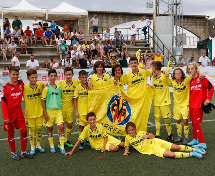El Villarreal fue el campeón alevín