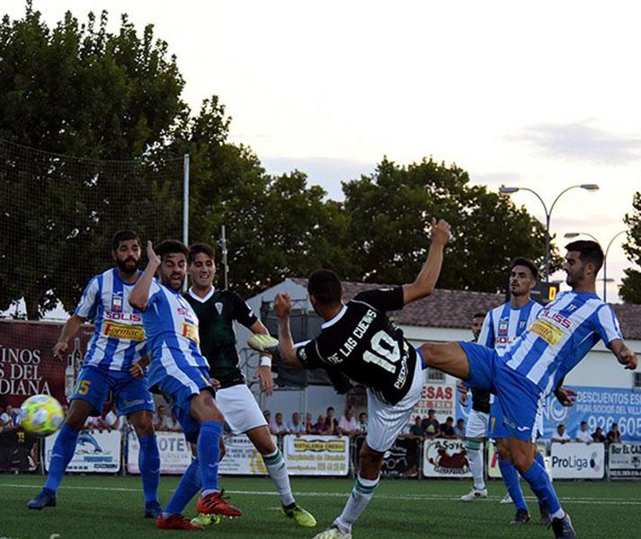 Miguel de las Cuevas tuvo el gol en sus botas hasta en dos ocasiones