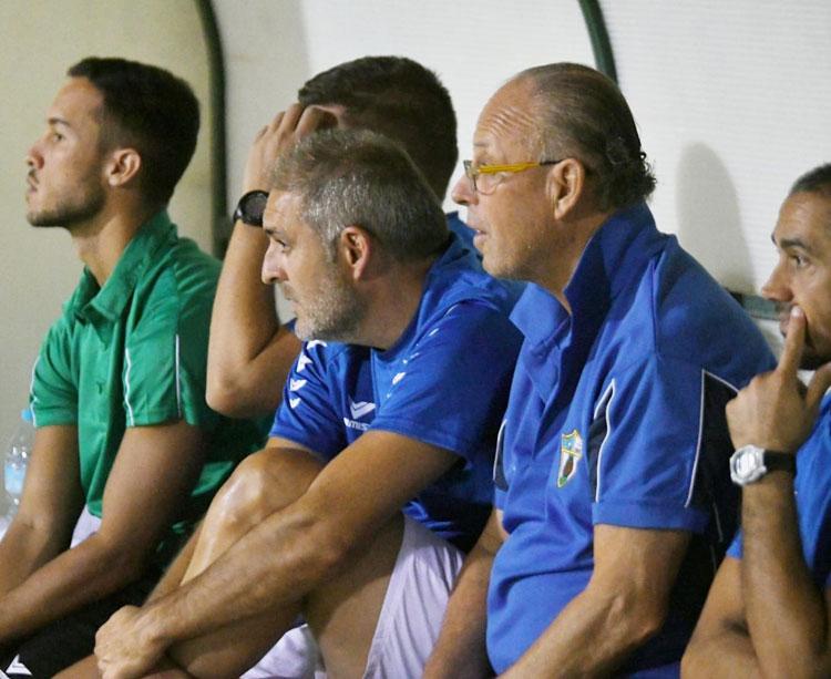 Javier de la Torre, entrenador del Pozoblanco. Foto cedida por Hoy al día