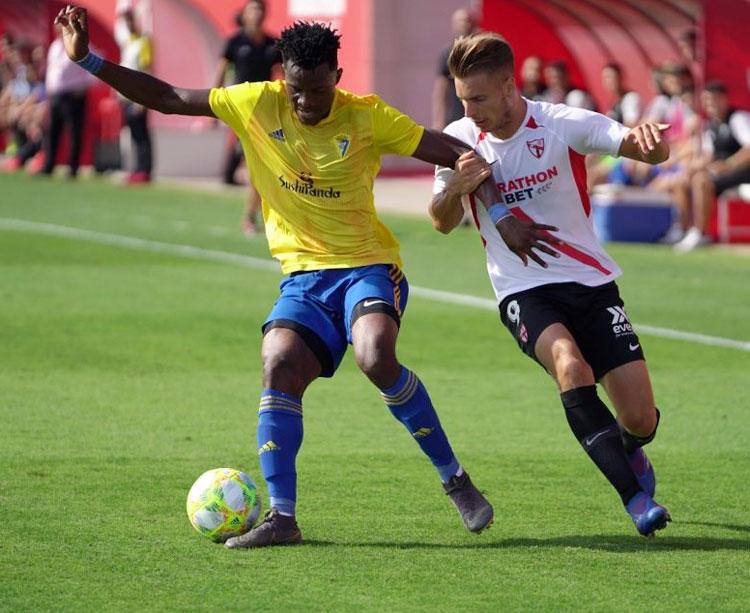 El Sevilla Atlético ha arrancado con problemas esta temporada. Foto: Sport Cartagena