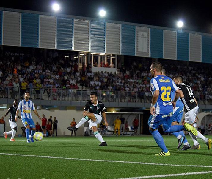 Antonio Moyano tuvo el gol de la victoria en los minutos finales.