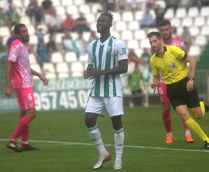 Owusu fue el hombre del partido ante el Badajoz