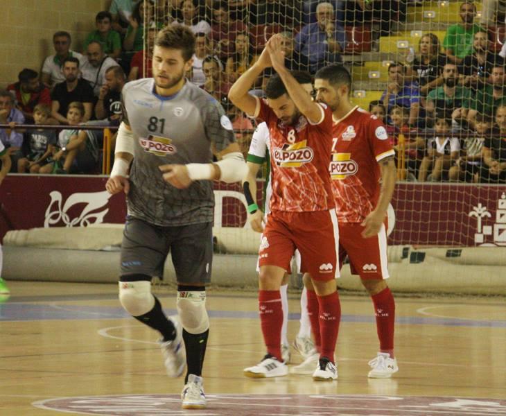 Andresito pide perdón a la afición tras marcar el segundo tanto de ElPozo Murcia