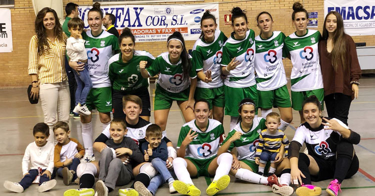 El Cajasur Deportivo dio buena cuenta del Guadalcacín