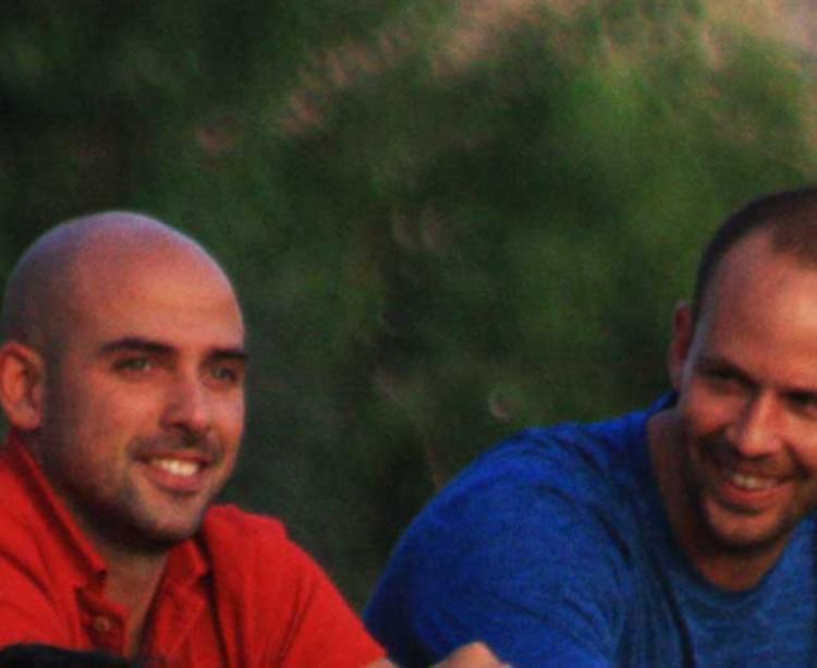 Luis Oliver Sierra junto Rubén Domínguez en la Ciudad Deportiva durante el pasado mes