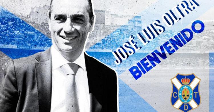 Jose Luis Oltra, durante su presentación como entrenador del Tenerife. Foto: Marca