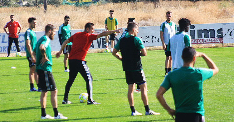 Agné recupera efectivos para Talavera. Autor: Manuel D. Vera
