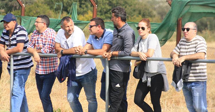Javi Moreno regresó a la Ciudad Deportiva junto a  actual segundo en el CD Pozoblanco, José María García, otrora técnico del filial blanquiverde, y el que lo fuera la pasada temporada en los juveniles del Córdoba CF, Gaspar Gálvez