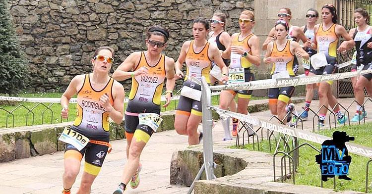 Competidoras del Montilla-Córdoba en una imagen de archivo