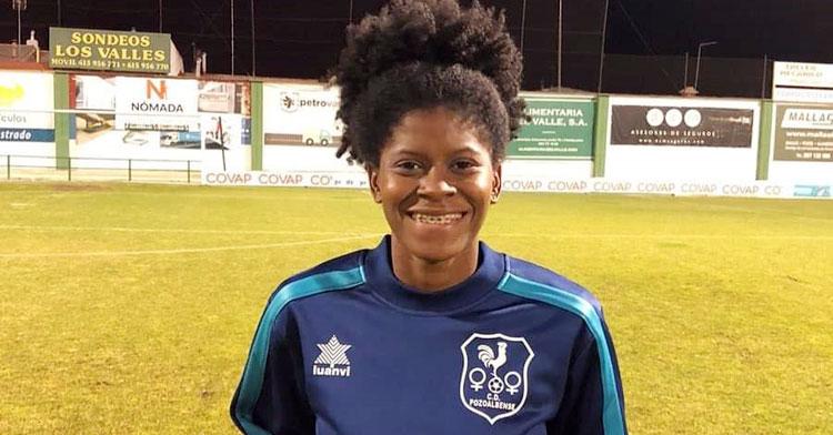 La nueva jugadora del Pozoalbense, Natalia Mills. Foto: Hoy al día