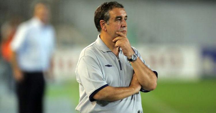 Quique Hernández, entrenador del Córdoba en la 2005-2006. Foto: El Periódico de Aragón