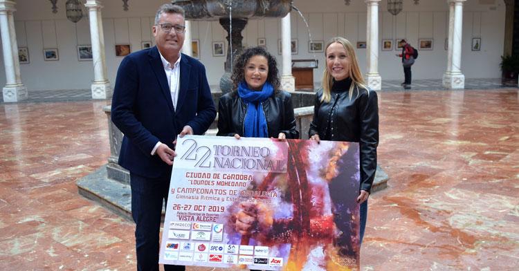La presentación en la Diputación del Torneo Nacional Lourdes Mohedano de Gimnasia Rítmica