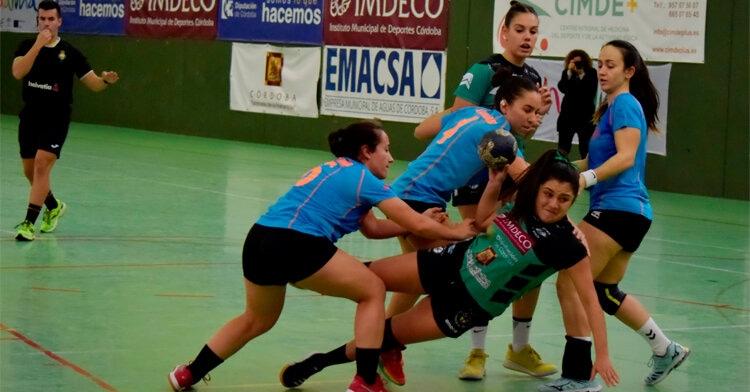 Ataque de las chicas de Adesal ante el Getasur en La Fuensanta. Foto: Prensa Adesal