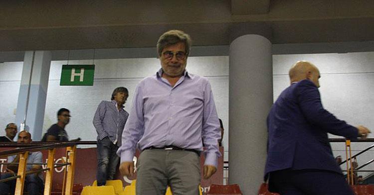 Carlos González en su aparición en el Vista Alegre en el estreno del Córdoba Patrimonio de la Humanidad en septiembre