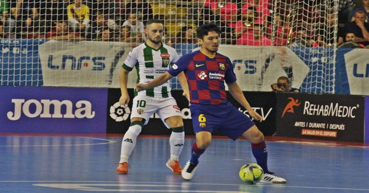 David Leal Barcelona Futbol Sala