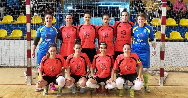 La formación del Deportivo Córdoba en Melilla