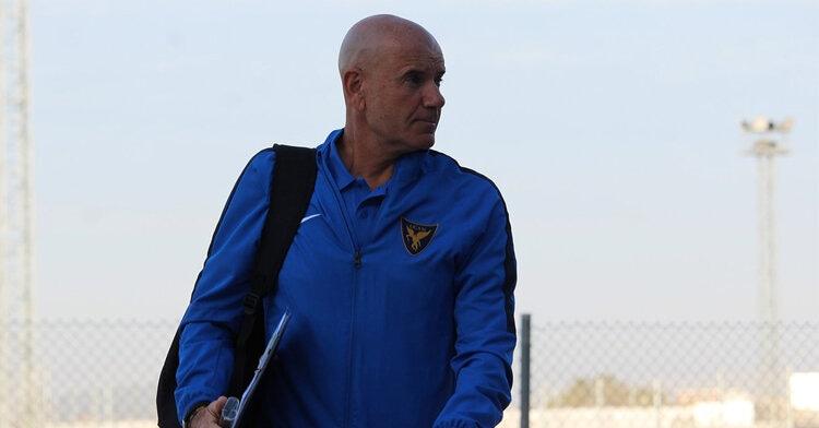 Miguel Rivera, entrenador universitario. Foto: UCAM Murcia