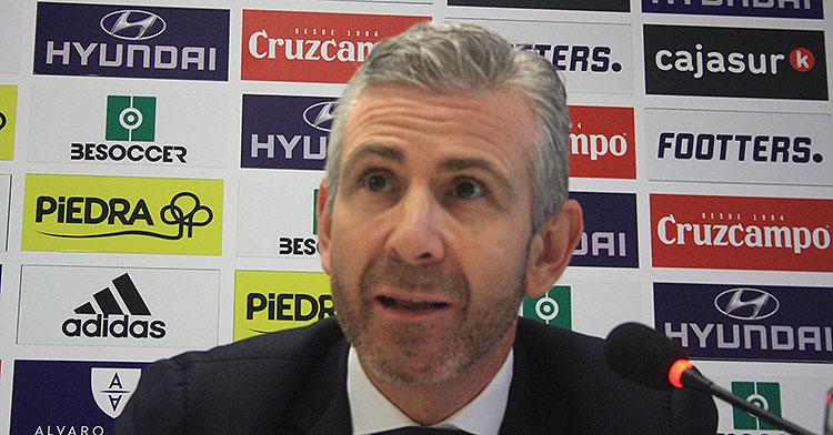 Javier Bernabéu, uno de los administradores judiciales del Córdoba
