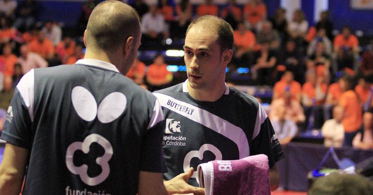 Alejandro Calvo en un impasse de un duelo de esta temporada. Foto: @PriegoTM