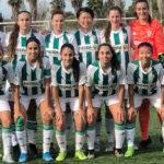 El once del conjunto femenino blanquiverde que se impuso al filial del Levante