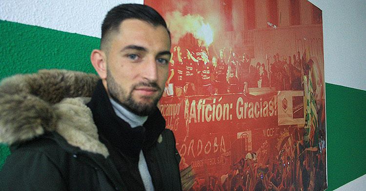José Antonio González volvió a Córdoba para defender los colores de su tierra y darlo todo por su afición