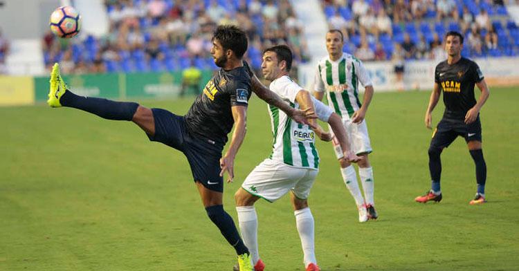 El Córdoba CF ya se midió al UCAM en Murcia en 2016. Foto: UCAM Deportes