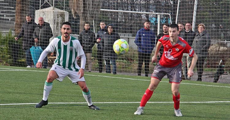 Ni la presencia de Antonio Moyano ayudó al B frente al Pozoblanco. Autor: Paco Jiménez