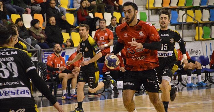Esteban López en plena jugada. Foto: Cajasur CBM