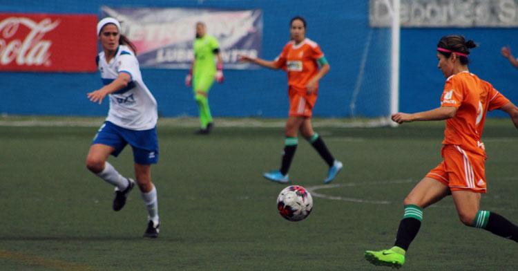 El Córdoba Femenino no pudo sumar en La Salud. Foto: UDG Tenerife Egatesa