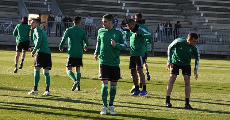 Victor Ruiz en la vuelta a los entrenamientos