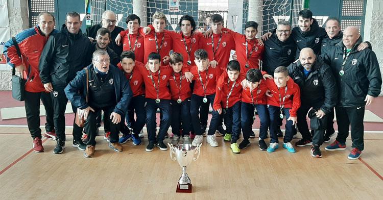 La selección de Almería, campeona infantil. Foto: FAF
