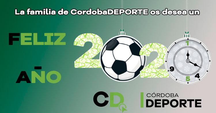 Feliz 2020 de parte de la familia de Cordobadeporte. Autor: Ángel Molina