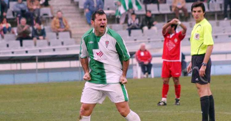 Un gol de Javi Moreno dio al Córdoba el triunfo en su último duelo en El Arcángel ante el Marbella. Foto: Besoccer / CCF