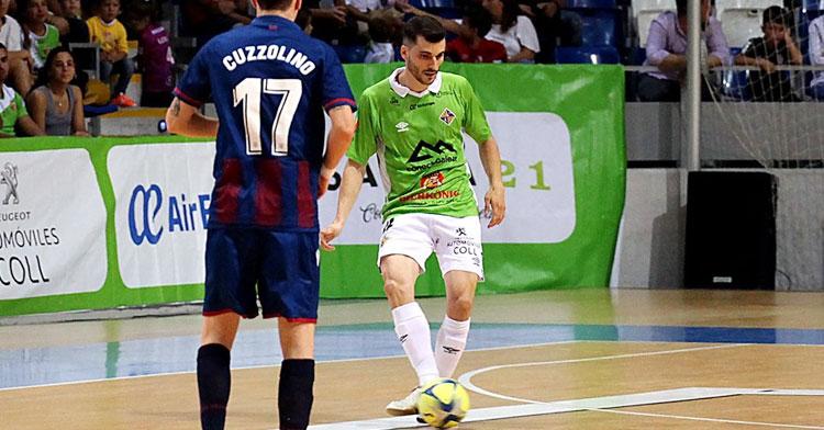 Lolo Urbano, uno de los cordobeses del Palma Futsal. Foto: LNFS