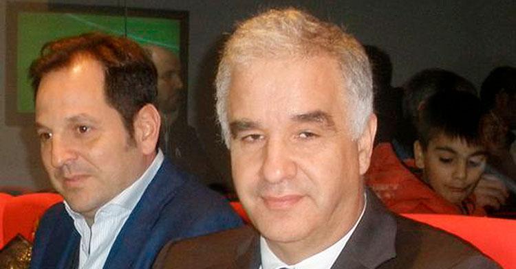 El empresario y agente de futbolistas Luis Pereira.