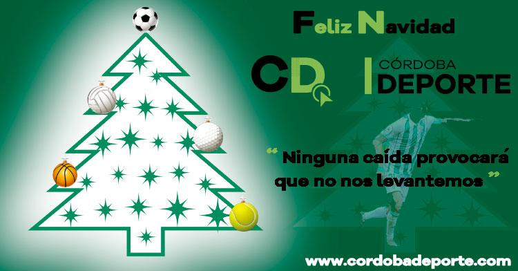 Los mejores deseos navideños desde Cordobadeporte. Autor: Ángel Molina