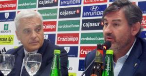 Miguel Valenzuela y Javier González Calvo en una imagen de esta temporada