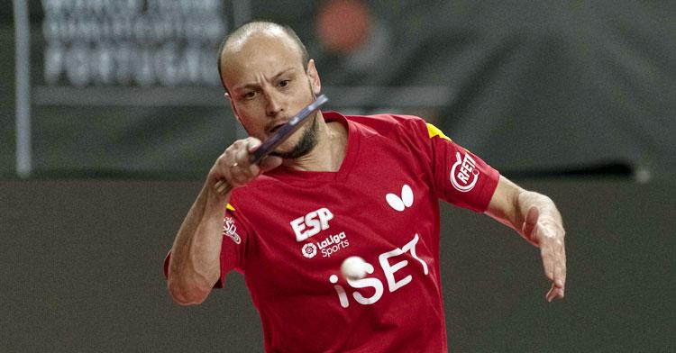 Carlos Machado no pudo celebrar un nuevo éxito con España