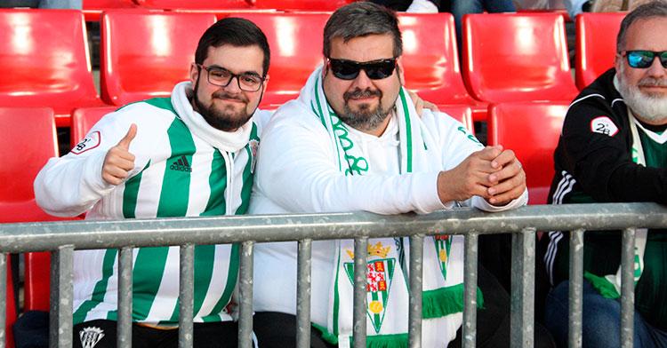 Dos cordobesistas en Granada.