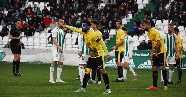 Toni Seoane jugando en El Arcángel como capitán del Villarrubia. Autor: Paco Jiménez