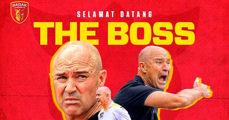 Rafa Berges vuelve a Indonesia para entrenar en su Segunda División.