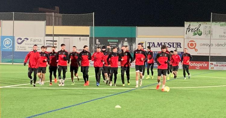 El Salerm en un entrenamiento. Foto: @SalermPG