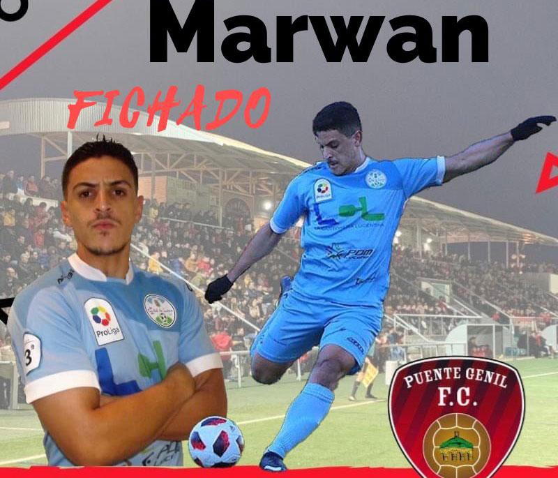 El anuncio del fichaje de Marwan por el Salerm