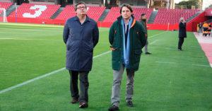 Javier González y Adrián Fernández en Granada. Autor: Paco Jiménez