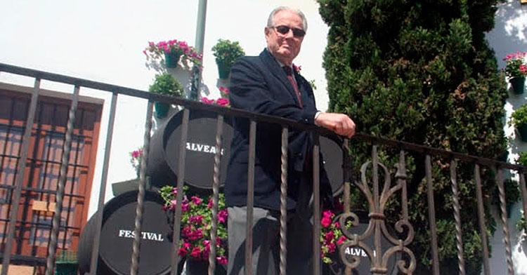 José Luis Navarro posando durante su entrevista con Cordobadeporte.com