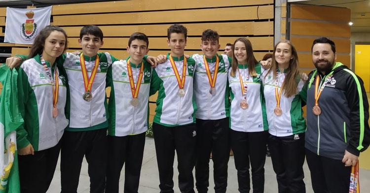 Todos los medallistas del Córdoba de Balonmano