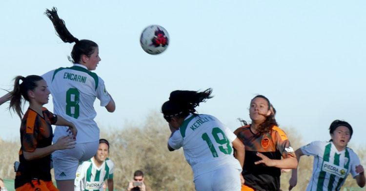 El Córdoba Femenino espera dar continuidad a su victoria contra el Valencia. Foto: Córdoba CF