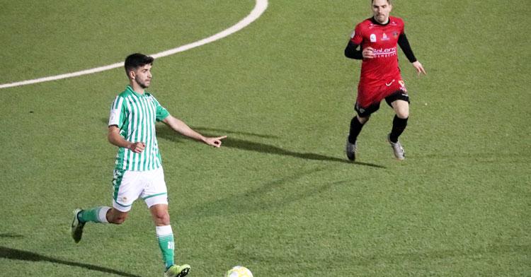 El Betis Deportivo hincó la rodilla en el Polinario. Foto: @RBetisCantera