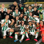 El Córdoba Femenino celebra la victoria ante el Villarreal. Foto: Córdoba CF Femenino