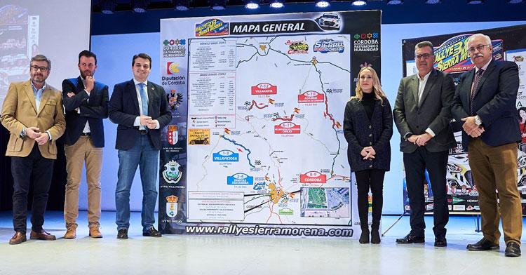 La puesta de largo del 38º Rally Sierra Morena